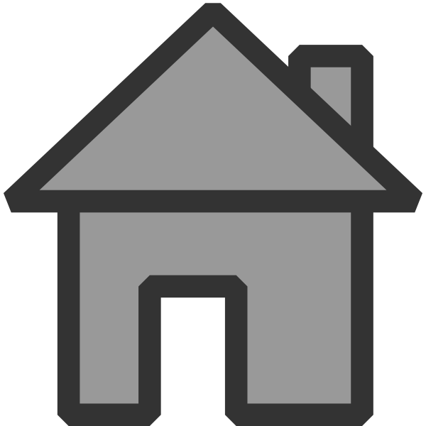 Gray house clipart picture freeuse library House Clip Art at Clker.com - vector clip art online, royalty free ... picture freeuse library