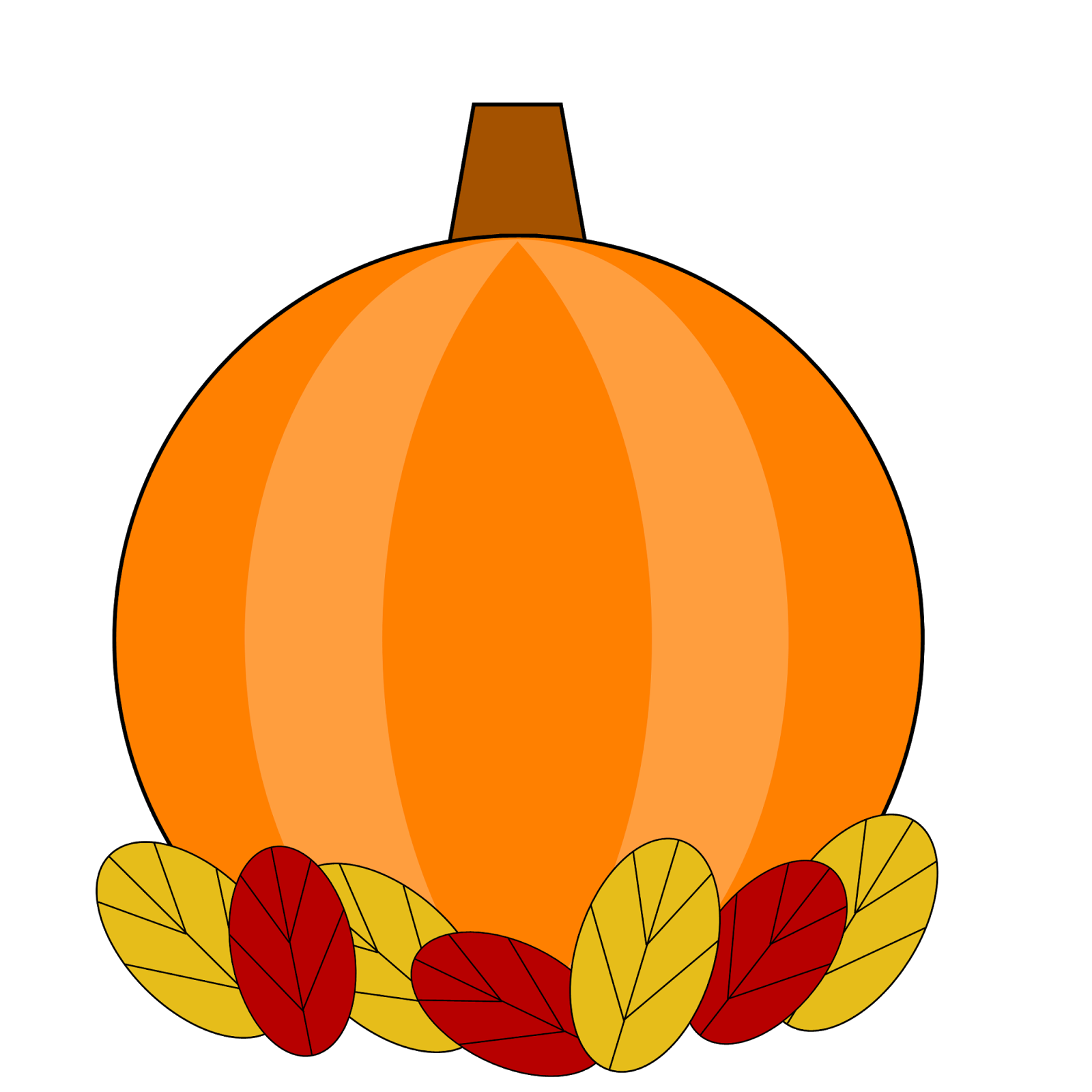 Happy thanksgiving pumpkins clipart image free Free Clipart N Images image free