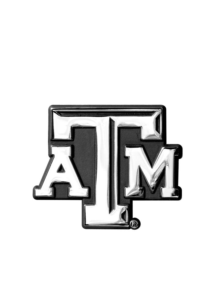 Gray texas a&m aggies clipart banner freeuse Texas A&M Aggies Chrome Car Emblem - Silver banner freeuse