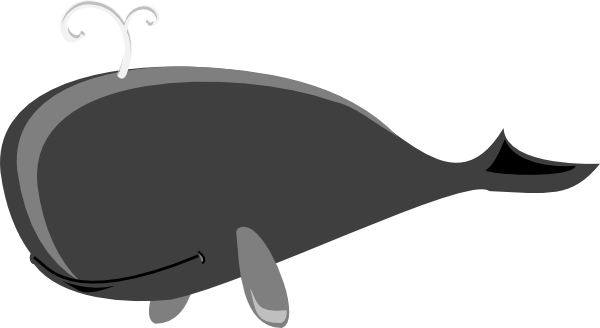Gray whale clipart graphic transparent download Gray Whale Grey Clip Art at Clker.com - vector clip art online ... graphic transparent download