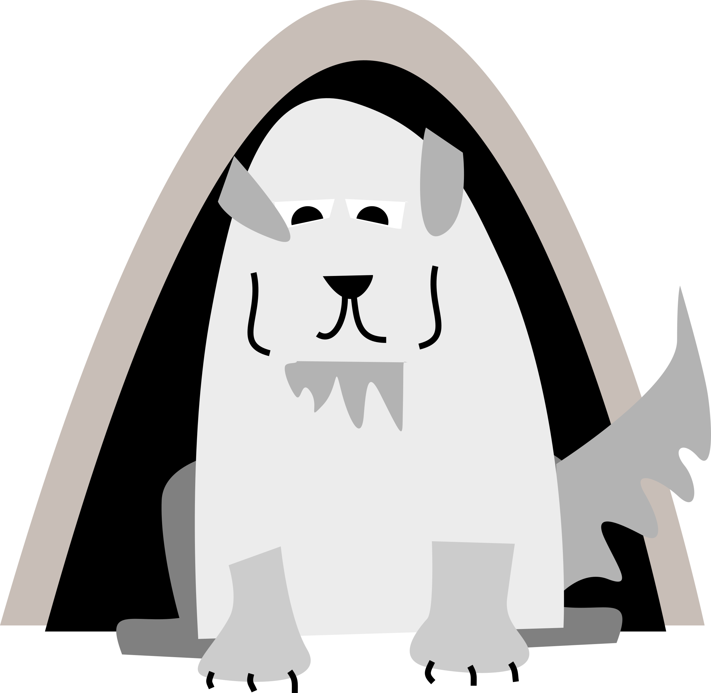 Great pyrenees dog clipart png freeuse download Clipart - Great Pyrenees Dog png freeuse download