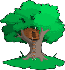 Great tree small and the small tree great clipart svg transparent Tree House clip art--I\'m going to print out a small clip art-type ... svg transparent