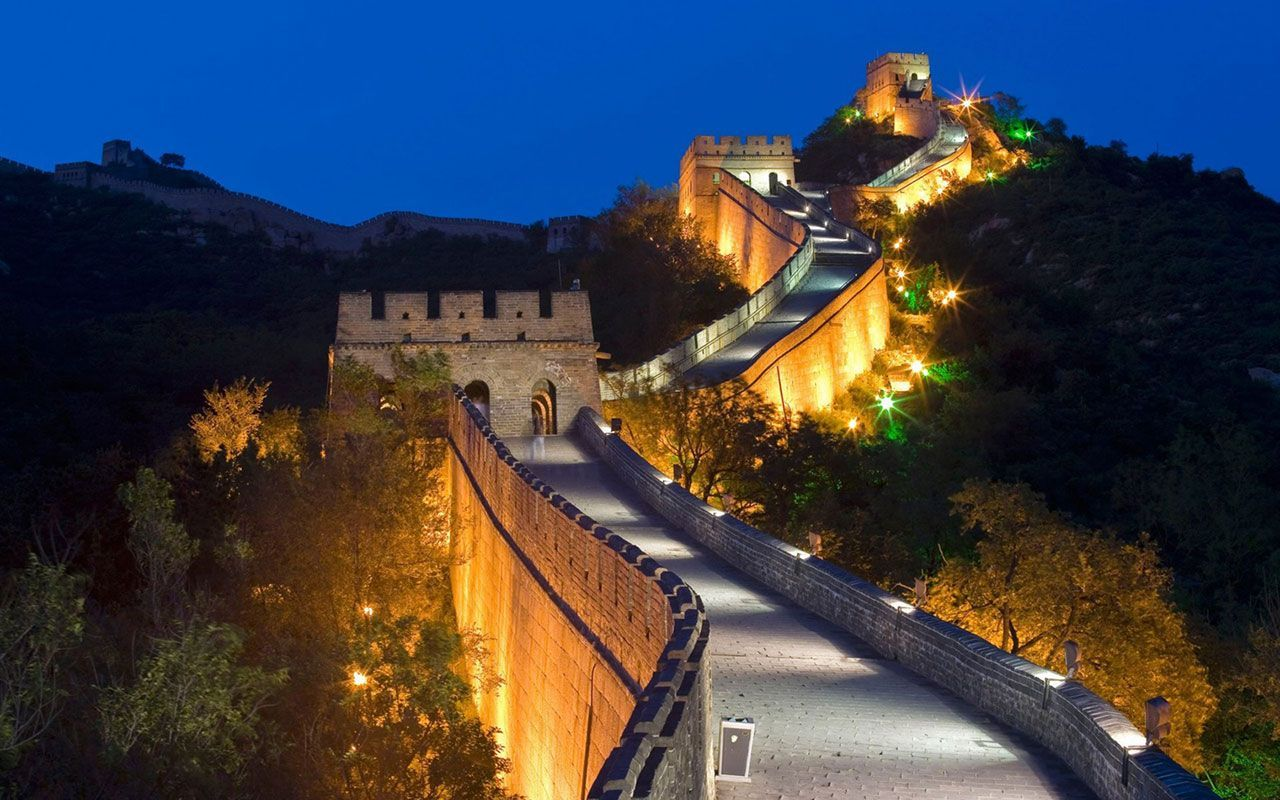 Great wall of china clipart at night freeuse Great Wall of China Wallpapers - Top Free Great Wall of China ... freeuse