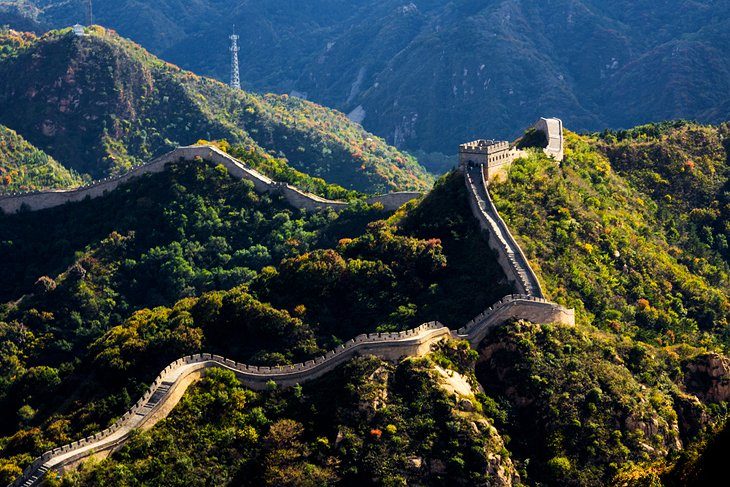 Great wall of china clipart at night graphic free 15 Top-Rated Tourist Attractions in China | PlanetWare graphic free
