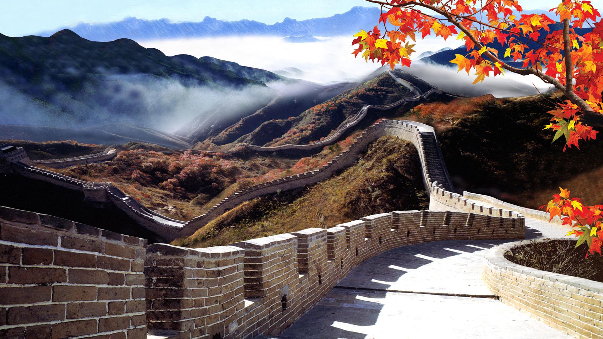 Great wall of china clipart at night svg royalty free The Great Wall of China Wallpaper (51+ images) svg royalty free