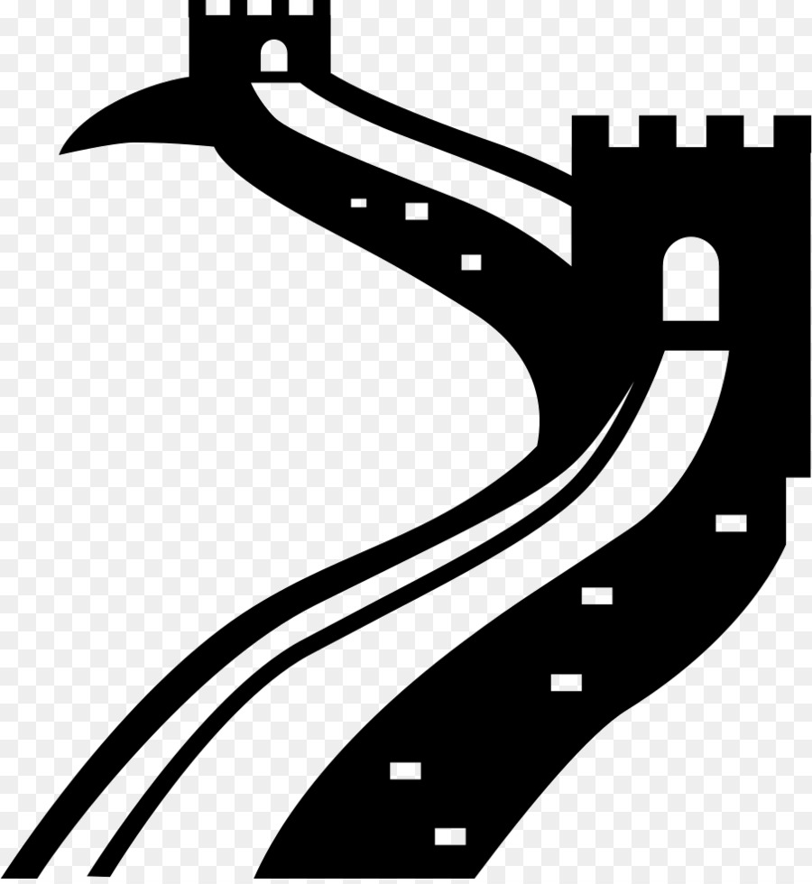 Great wall of china clipart black and white picture free stock China Background png download - 906*980 - Free Transparent Great ... picture free stock