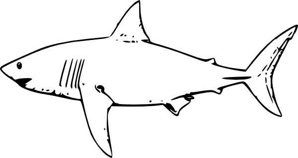 Great white clipart jpg freeuse Great White Shark clip art | Clipart Panda - Free Clipart Images jpg freeuse