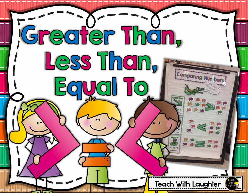 Greater than less than or equal to clipart png library stock Teach With Laughter: Greater Than, Less Than, Equal To png library stock