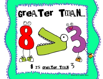 Greater than less than or equal to clipart vector Greater Than Less Than Equal To Posters & Worksheets | TpT vector