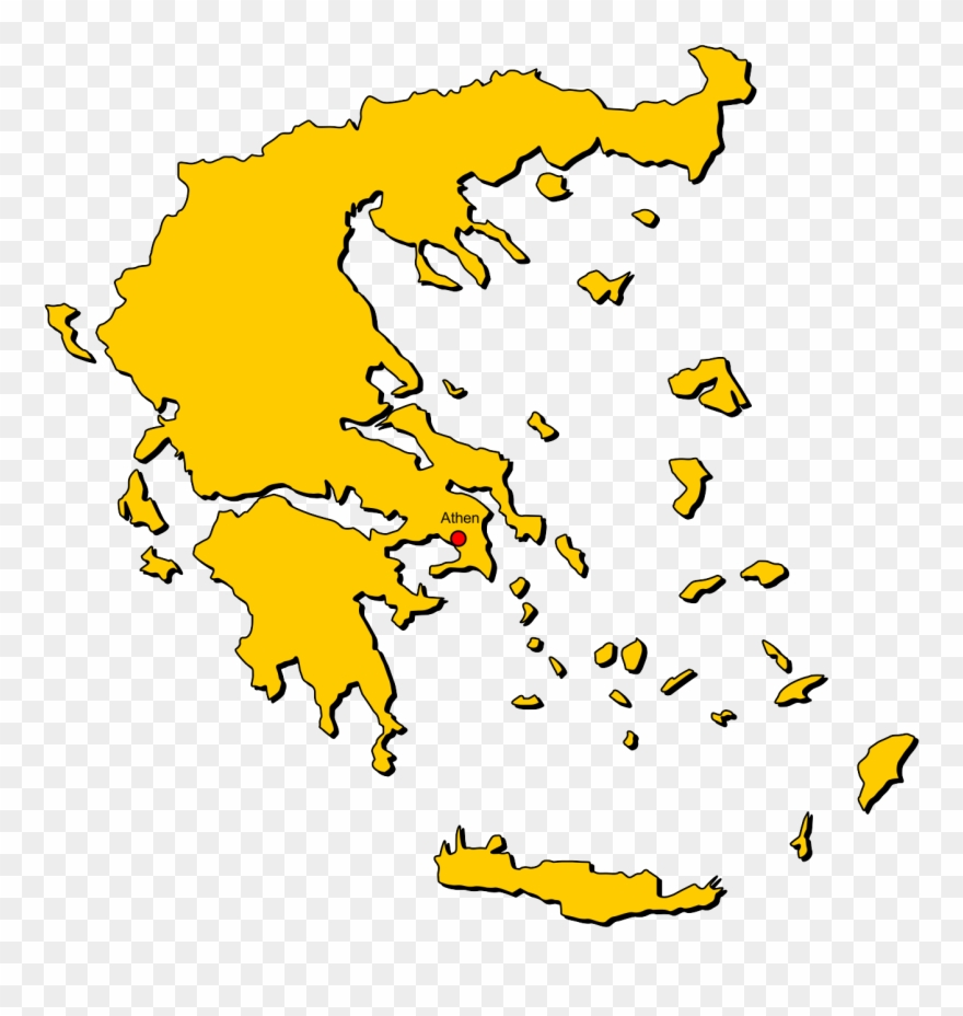 Greece map clipart clip black and white library Greece Map , Png Download - Karystos Greece Map Clipart (#3774511 ... clip black and white library