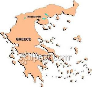 Greece map clipart png freeuse stock Map of Greece - Royalty Free Clipart Picture png freeuse stock