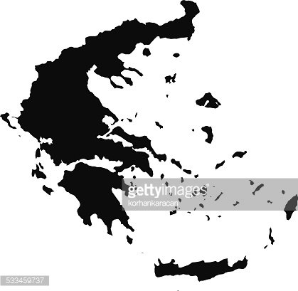 Greece map clipart clip black and white download Greece Map premium clipart - ClipartLogo.com clip black and white download