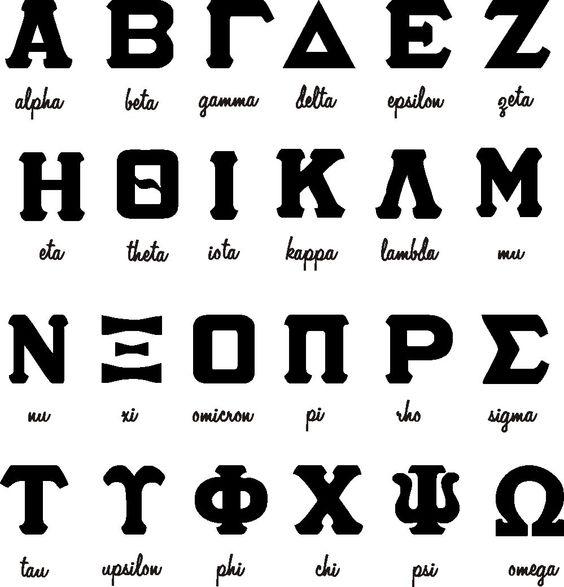 Greek alphabet clipart library Greek character clipart - ClipartFest library