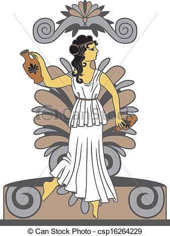 Greek art clipart image library stock Greek mythology Vector Clipart Royalty Free. 1,472 Greek mythology ... image library stock
