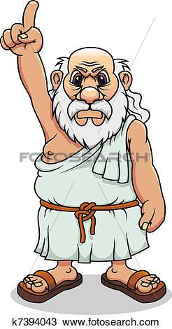Greek art clipart clip art free download Clipart of Ancient greek man k7394043 - Search Clip Art ... clip art free download