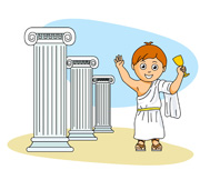 Greek boy clipart image black and white library Search Results - Search Results for Greek Pictures - Graphics ... image black and white library