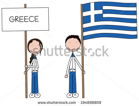 Greek boy clipart svg black and white Greek Boy Girl Stock Photos, Royalty-Free Images & Vectors ... svg black and white