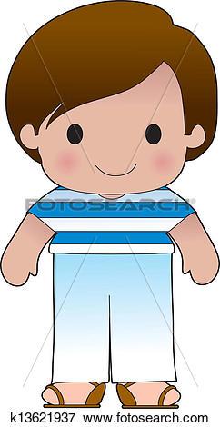 Greek boy clipart vector transparent library Clip Art of Poppy Greek Boy k13621937 - Search Clipart ... vector transparent library