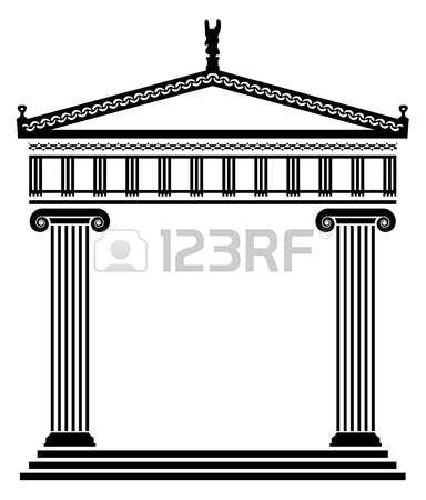 Greek building clipart vector transparent download 2,985 Greek Building Stock Vector Illustration And Royalty Free ... vector transparent download