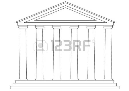 Greek building clipart vector freeuse stock 2,038 Greek Temple Stock Illustrations, Cliparts And Royalty Free ... vector freeuse stock