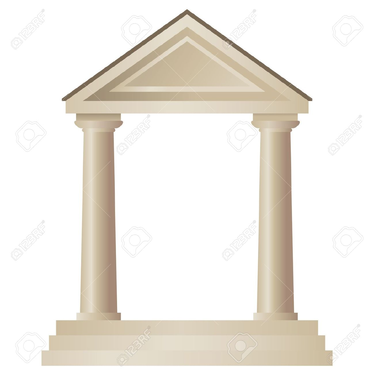 Greek building clipart black and white library 2,985 Greek Building Stock Vector Illustration And Royalty Free ... black and white library