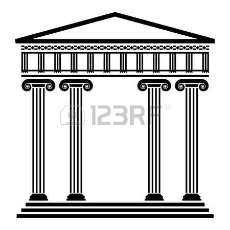 Greek building clipart image freeuse 2,038 Greek Temple Stock Illustrations, Cliparts And Royalty Free ... image freeuse