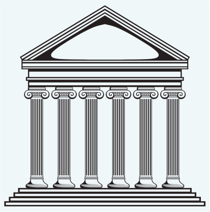 Greek building clipart picture black and white download Roman building clipart - ClipartFest picture black and white download