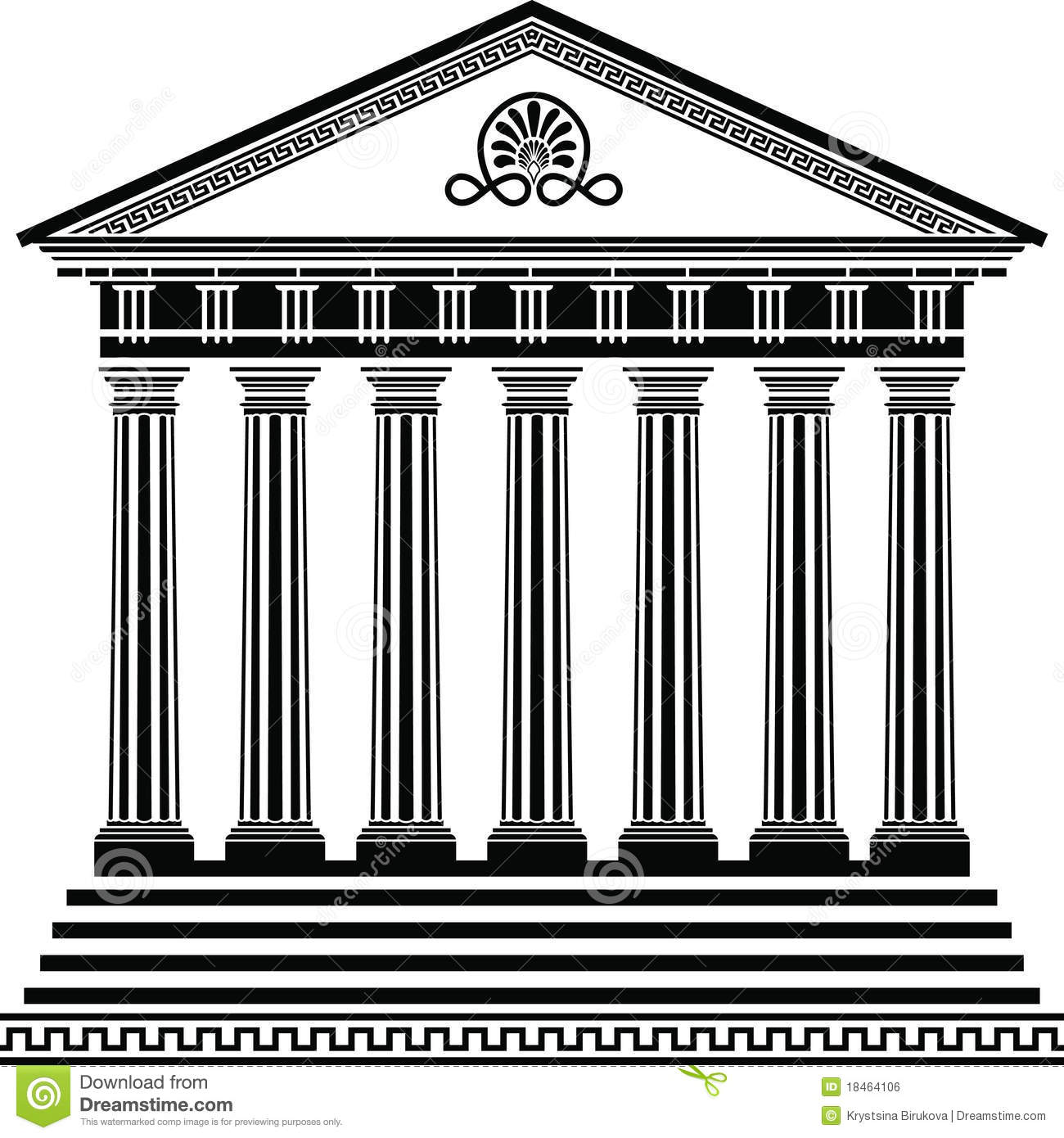 Greek building clipart picture stock Greek Buildings Clipart - Clipart Kid picture stock