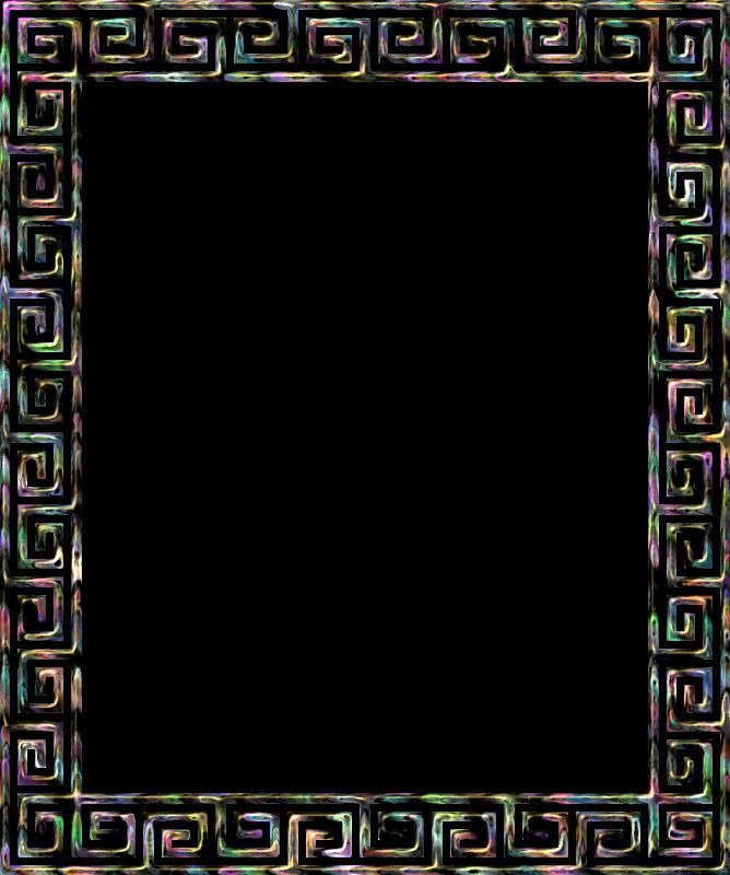 Greek clipart borders svg Download greek border frame clipart Borders and Frames Meander Clip art svg
