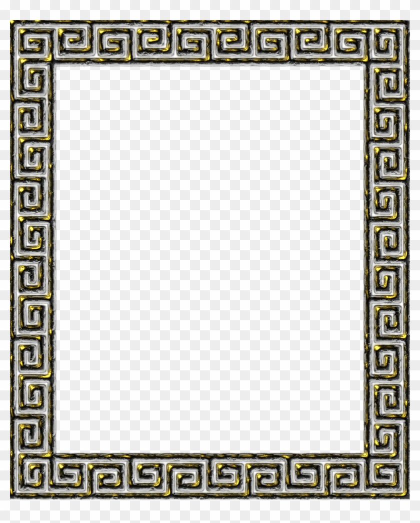 Greek clipart borders banner freeuse download Greece Clipart Circle Border - Greek Key Border Png, Transparent Png ... banner freeuse download