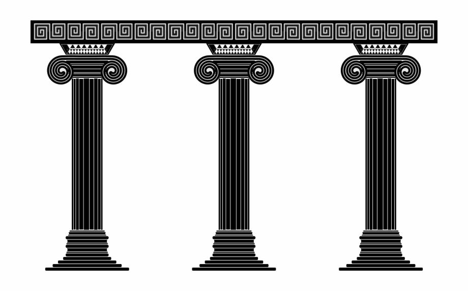 Greek columns clipart clipart library download Column Png - Greek Pillars Clip Art, Transparent Png Download For ... clipart library download