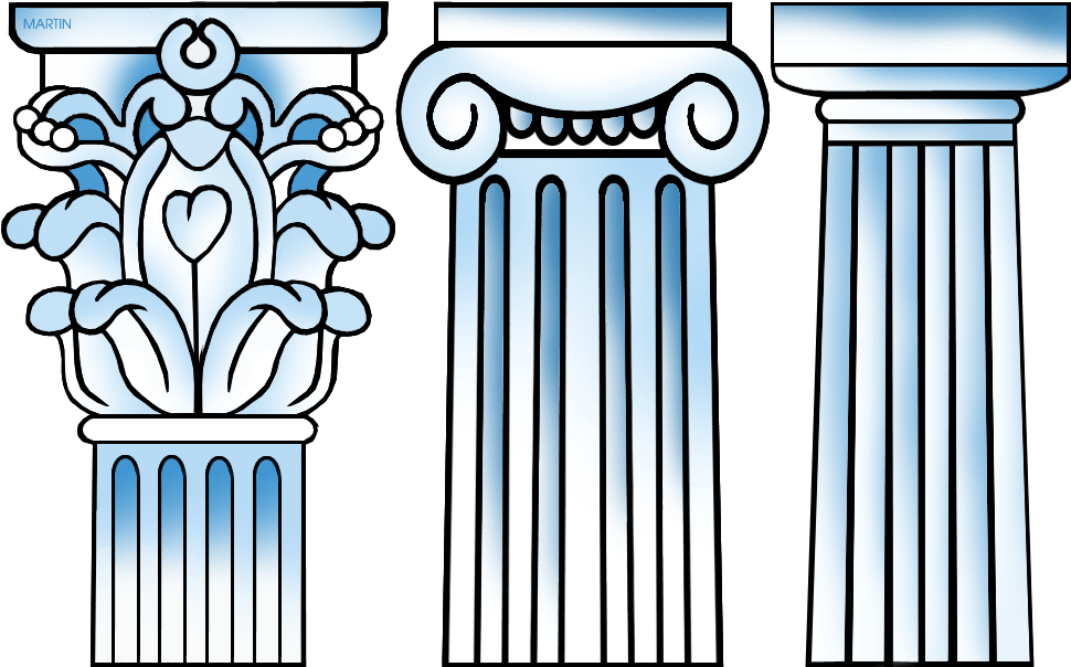 Greek columns clipart image royalty free HD Greek Columns Drawing Clipart Ancient Greece Classical - Greek ... image royalty free