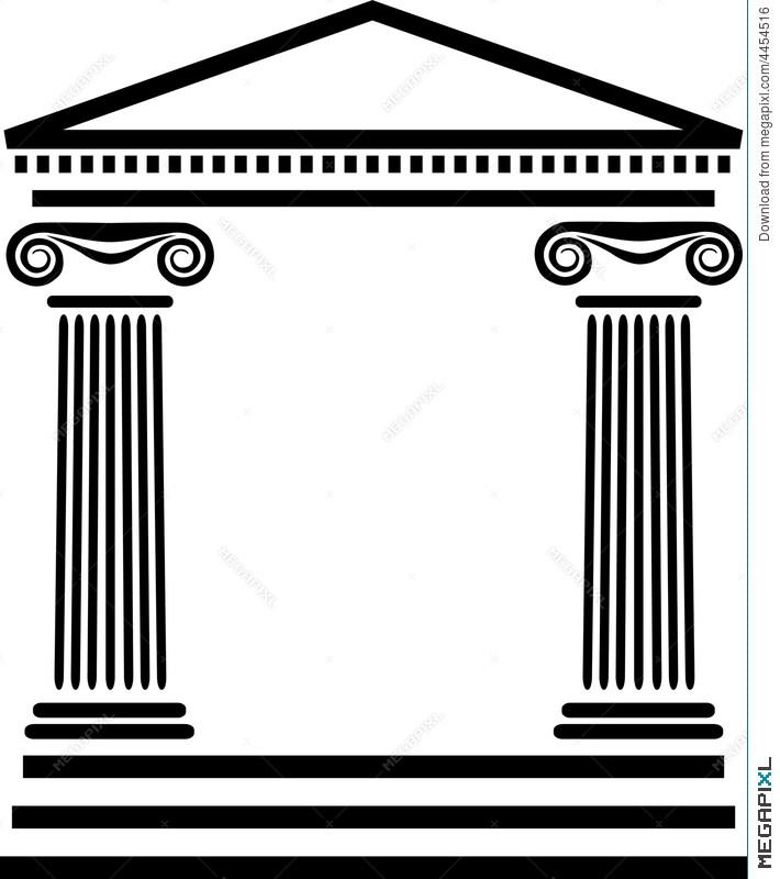 Greek columns clipart clip library Greek columns clipart 4 » Clipart Portal clip library