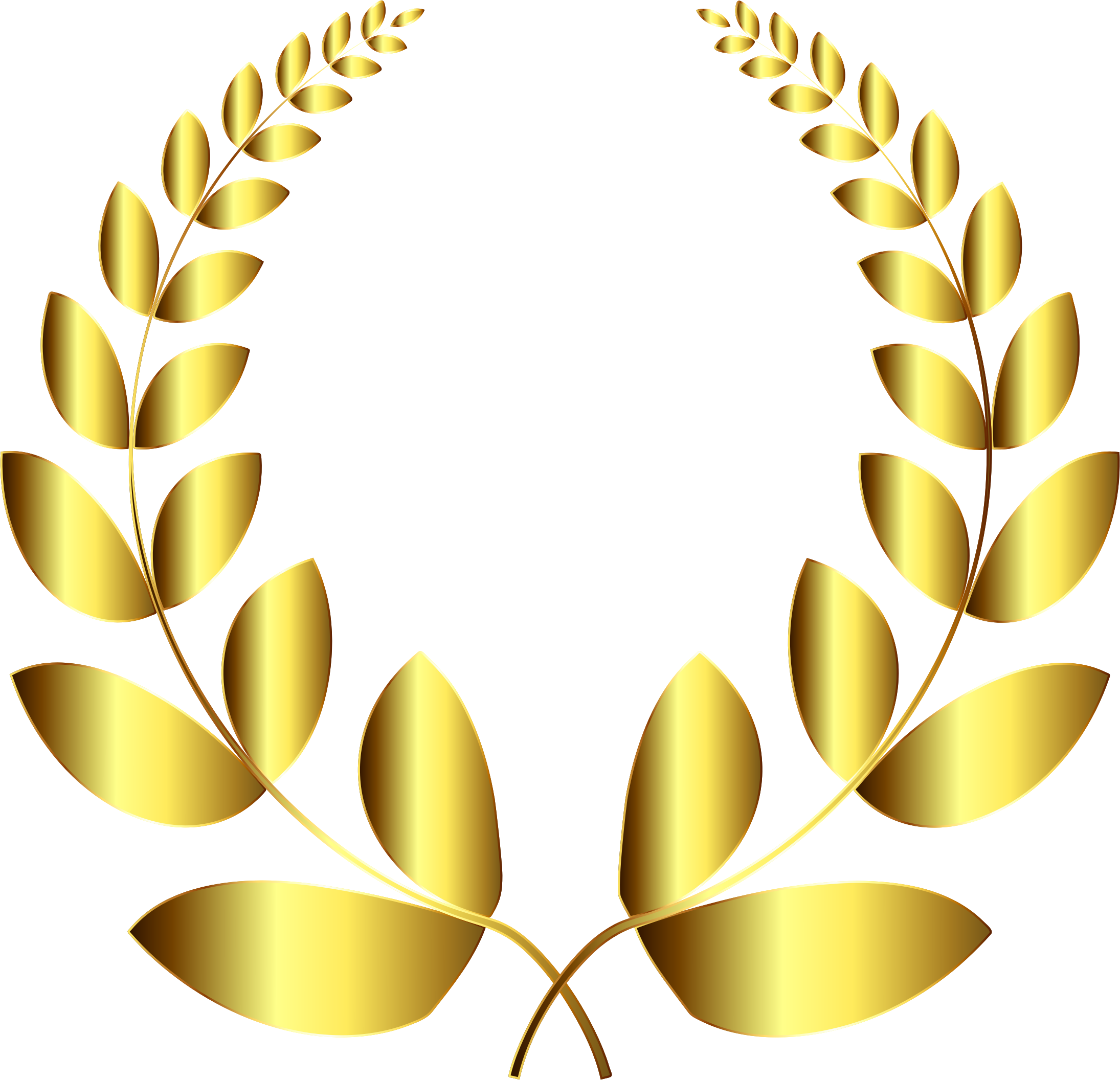 Greek crown clipart for powerpoint svg library library 28+ Collection of Gold Laurel Wreath Clipart | High quality, free ... svg library library