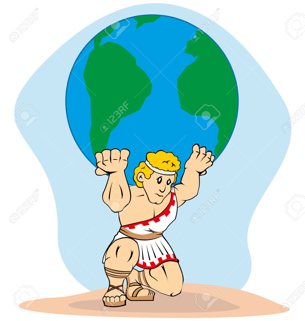 Greek god atlas clipart graphic black and white download Greek god atlas clipart - ClipartFest graphic black and white download