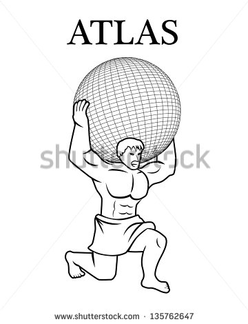 Greek god atlas clipart clipart download Atlas God Stock Images, Royalty-Free Images & Vectors   Shutterstock clipart download