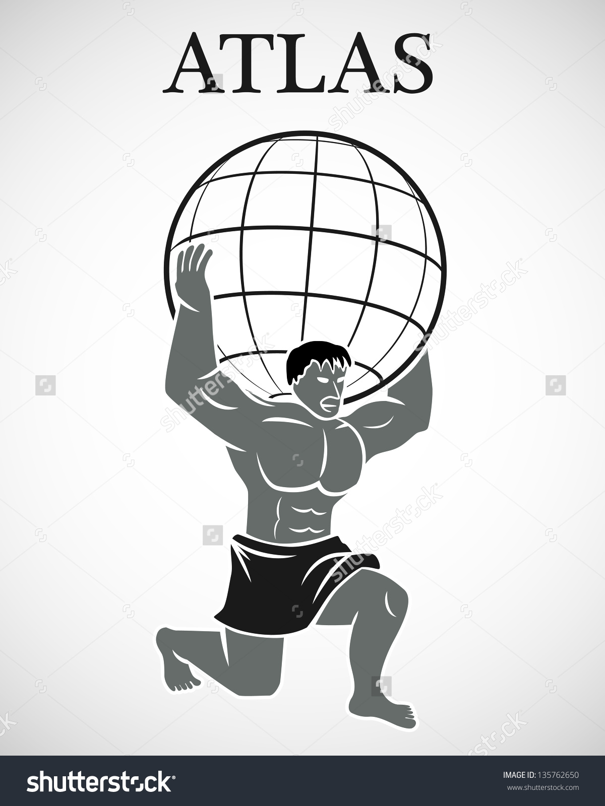 Greek god atlas clipart picture free download Greek god atlas clipart - ClipartFest picture free download