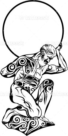 Greek god atlas clipart picture black and white stock 17 Best ideas about Atlas Tattoo on Pinterest   Traveler tattoo ... picture black and white stock