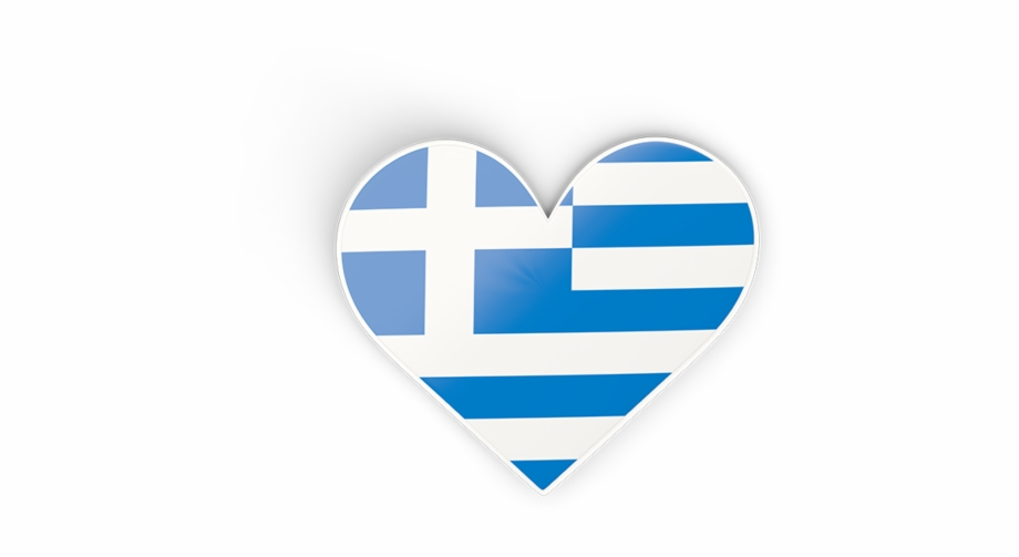 Greek heart clipart banner library stock Greece Heart Flag Png Free PNG Images & Clipart Download #4968174 ... banner library stock