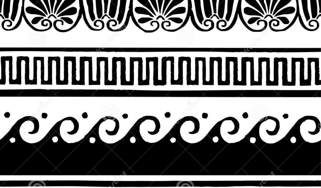 Greek key border clipart picture royalty free download Greek key clip art - ClipartFest picture royalty free download