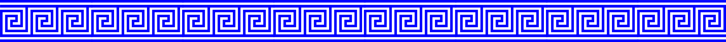 Greek key border clipart png transparent stock Clipart - Blue Greek Key With Lines Border png transparent stock