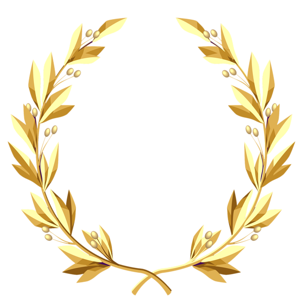 Greek leaves crown clipart picture freeuse Pin by F-117 on DECORATIVE ELEMENTS PNG AND JPG   Pinterest   Gold ... picture freeuse
