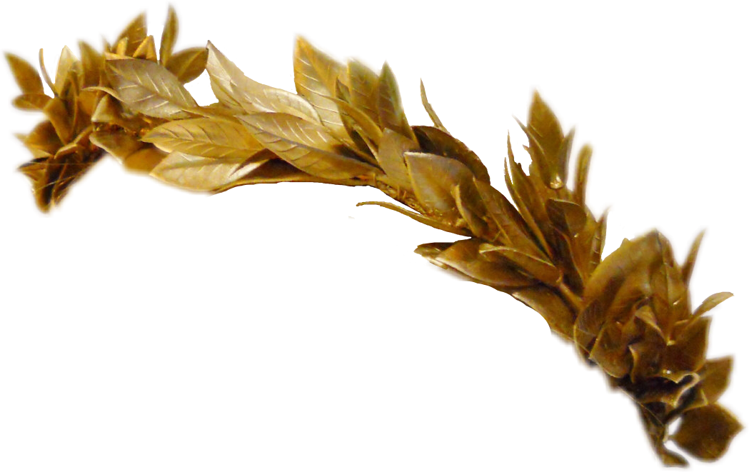 Greek leaves crown clipart clip library greek crown greekcrown leaves gold golden goldcrown fre... clip library