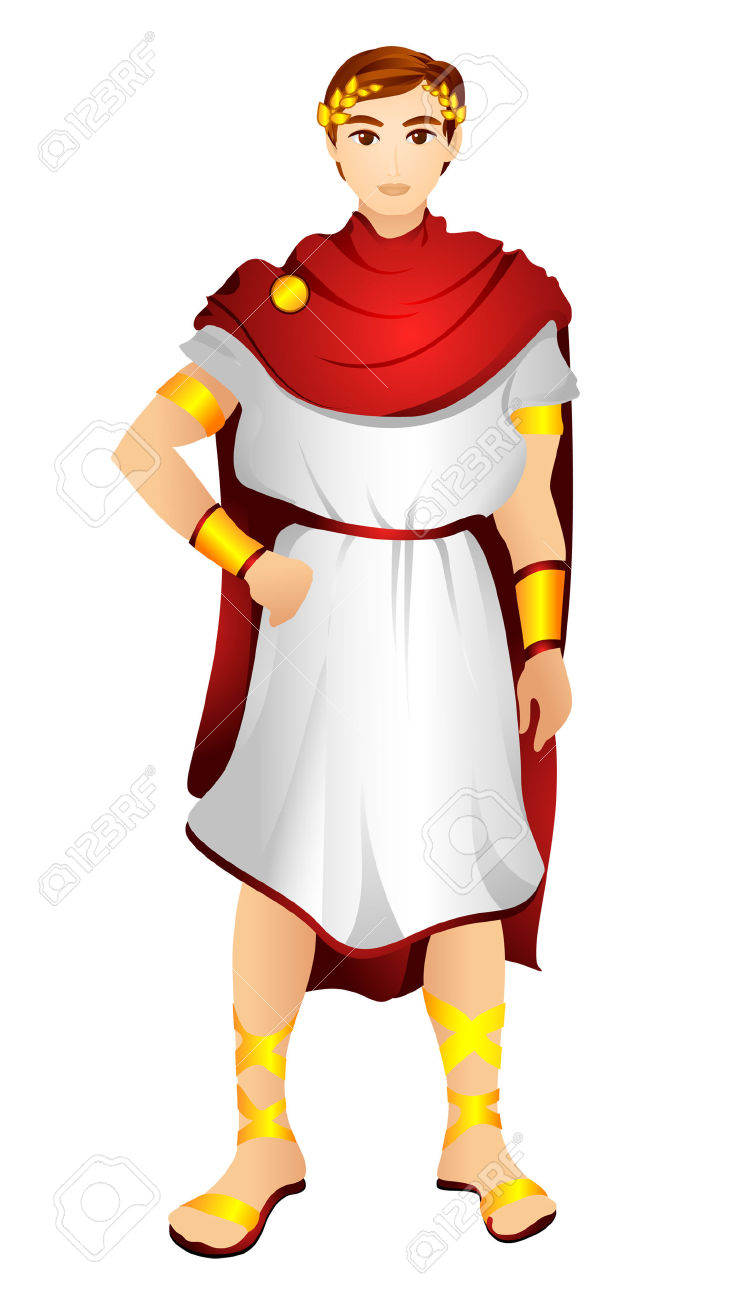 Greek man clipart clip art library Greek Costume With Clipping Path Royalty Free Cliparts, Vectors ... clip art library