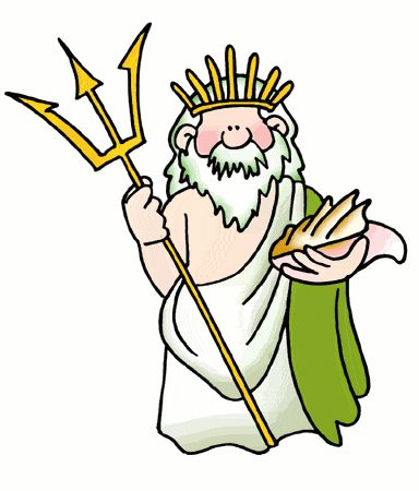 Greek myth png clipart image royalty free Poseidon & Neptune - Ancient Greek & Roman Gods for Kids | school ... image royalty free