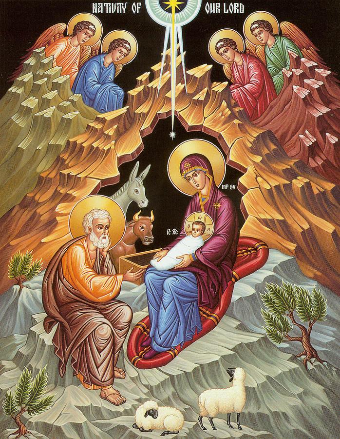 Greek orthodox christmas clipart
