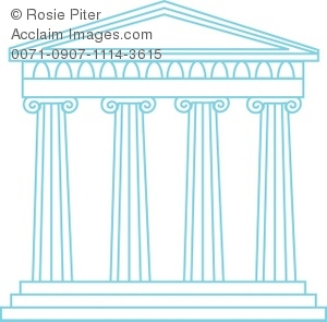 Greek shrine clipart image library download Greek temples clipart - ClipartFest image library download