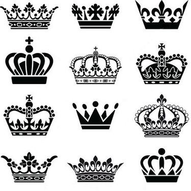 Greek symbols clipart crowns at wedding ceremony banner library library Queen and King Crowns Tattoo Design | tattos | King crown tattoo ... banner library library