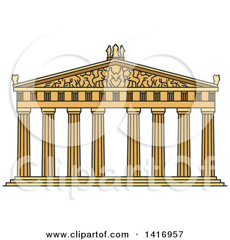 Greek temple clipart free png royalty free download Royalty-Free (RF) Parthenon Clipart, Illustrations, Vector Graphics #1 png royalty free download