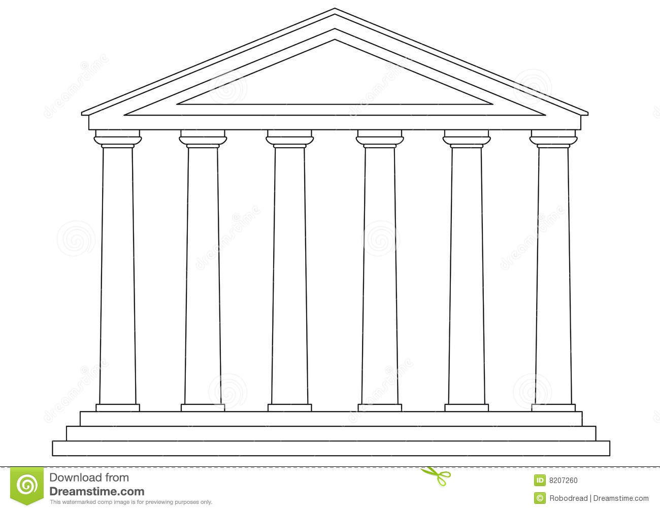Greek temple clipart free image library download Greek temple clipart free - ClipartFest image library download
